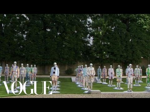 Thom Browne Spring Summer 2013 – Madras & Metallics