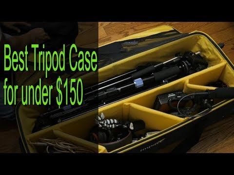 The best Tripod Case for carrying all your camera gear