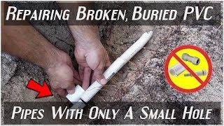 Video EASILY Repairing Broken PVC Pipes(Least Amount Of Digging) MP3, 3GP, MP4, WEBM, AVI, FLV Juli 2018