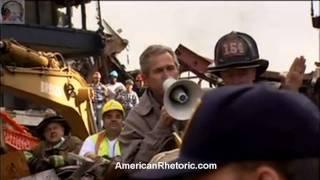 George W. Bush - 9/11 Bullhorn Speech