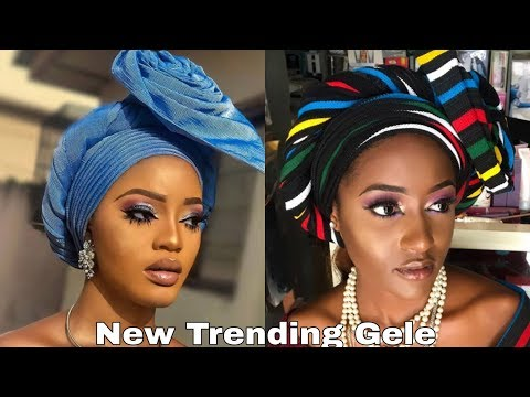 BEGINNERS/ HOW TO TIE SIMPLEST TRENDING GELE FOR BEGINNERS | How To Tie Gele | Ocube Glamour