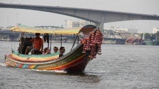 On Chao Phraya River In Bangkok