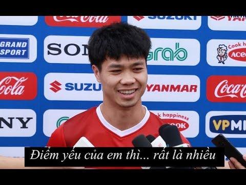 Cười bể bụng với câu trả lời của Công Phượng, HLV Park và cầu thủ ĐTVN - Thời lượng: 2:02.