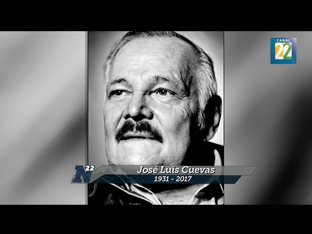 Despiden con un homenaje a José Luis Cuevas (1931-2017)