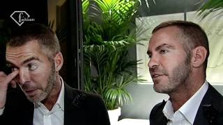 Designer Talks - DSquared2 Spring 2011: Dean And Dan Caten At Milan Fashion Week MFW | FashionTV - F