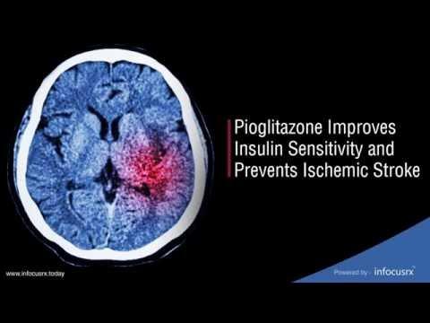 Pioglitazone Improves Insulin Sensitivity and Prevents Ischemic Stroke