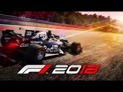 F1 2018 REDBULL RB14 MOD: Max Verstappen (видео)