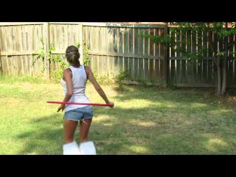 Ples s hula hoop obročem