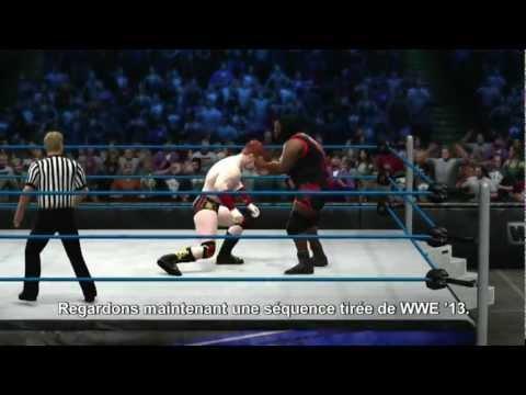 WWE' 13 : les nouveautés et améliorations en vidéo
