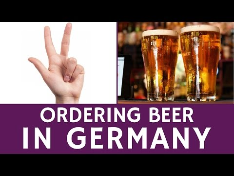 How to Order a Drink (Beer) in Germany – Facts for Tourists