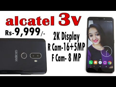 Alcatel 3V - Unboxing & Overview- In Hindi