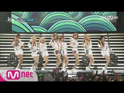 Girls′ Generation(소녀시대) - 'Party' M COUNTDOWN - FEELZ In NY 150815 EP.438