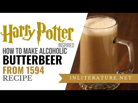 1500's Butterbeer recipe | Harry Potter | Food in Literature