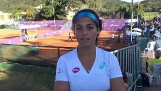 Carolina Meligeni estreia contra favorita no Brasil Tennis Cup