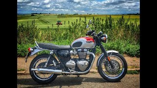 1. Living with the 2017 Triumph Bonneville T120 - Long Term Review