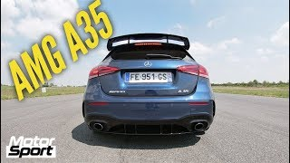 Mercedes AMG A35 : 0-230 km/h by Motorsport Magazine