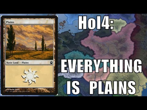 What if the WHOLE WORLD was PLAINS? My Hearts of Iron 4 mod