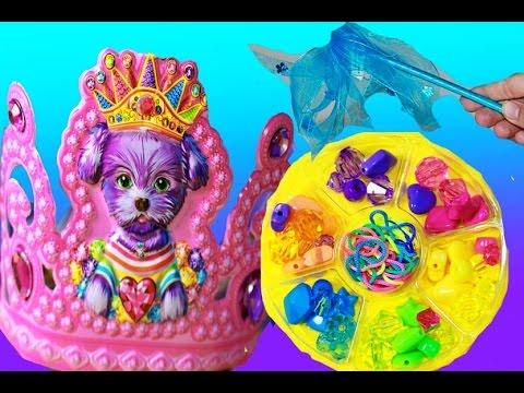 Lisa Frank Party Bucket Princess Party Supplies Dress Up Kit