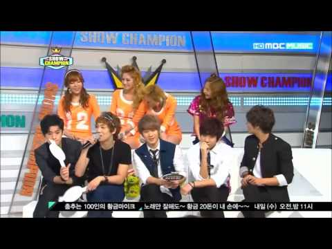 Orange Caramel Nana @ Show Champion cuts