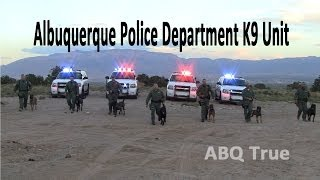 ABQ TRUE | Albuquerque Police Department K9 Unit Ride Along