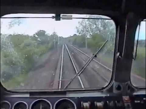 87015 Milton Keynes - Coventry. Driver's eye view cab ride.