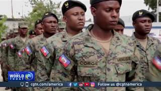 Haiti has not had its own army in 22 years. That is changing. The United Nations has had peacekeeping troops in the country for the past 13 years. Now, they're ...