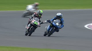 Video Fenati and Ajo clash in Moto3 warm-up MP3, 3GP, MP4, WEBM, AVI, FLV September 2018