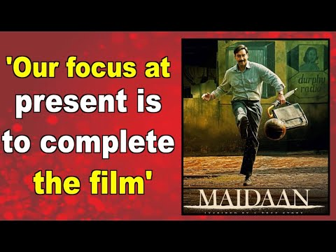 Ajay Devgns Maidaan not currently in talks for payperview release