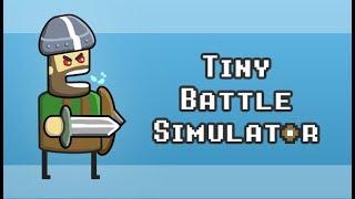 FLOWER POT HELMET OP - Tiny Battle Simulator Gameplay Impressions