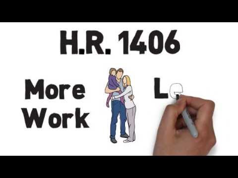 hr - The House Republican bill H.R. 1406 is the latest in a string of GOP attacks on workers' rights. The bill would force an unnecessary choice between overtime ...