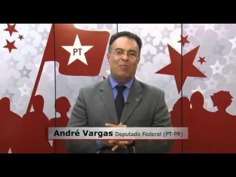 André Vargas apoia Odir em Pinhão