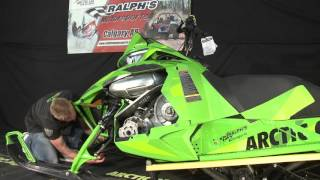 7. How to Remove Your Hood & Check Fluid Levels Arctic Cat M8