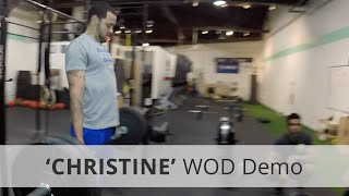 Christine - Кроссфит WOD