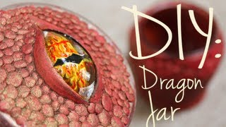DIY: Dragon Jar - YouTube