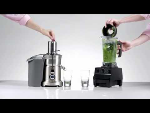 Juicing vs. Blending which has a higher concentration of nutrients?