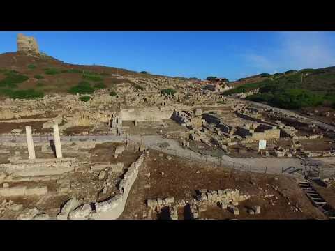 le referenze archeologiche della città di tharros