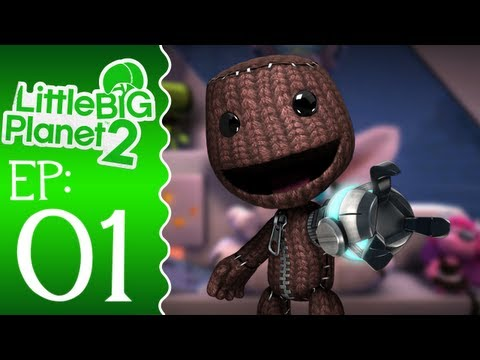 littlebigplanet2 - Welcome to Episode 1 of Little Big Planet 2! Rating and commenting on this video really helps me out, if you can. Not only can you tell me how to improve, bu...