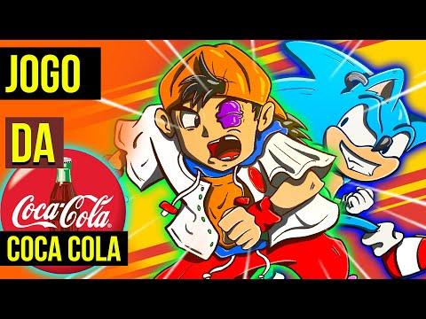 SONIC com GRAFICOS de COCA COLA 😱  COCA COLA KID