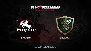Empire vs xGame.kz, game 1