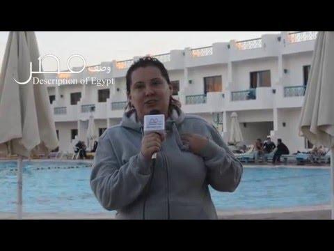 """بالفيديو .. روسية تقولها بالعربية """" بحبك يا مصر """" ..وتدعو الروس لزيارة شرم الشيخ"""
