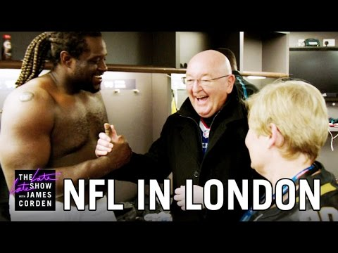 James Corden's Parents Explore the NFL (видео)