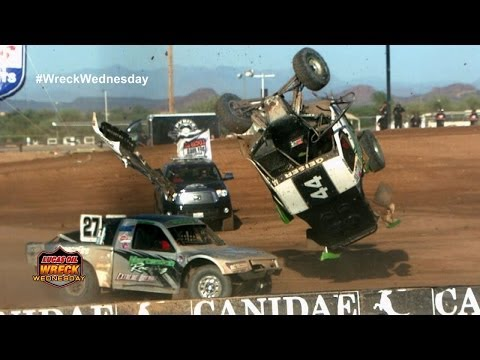 SUPER SLOWMO Off Road Wreck - WW #21