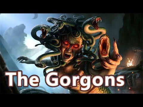 Medusa, Stheno and Euryale: The Gorgons - Mythological Bestiary #08 See U in History