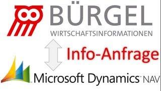 BÜRGEL NAV - Info-Anfrage