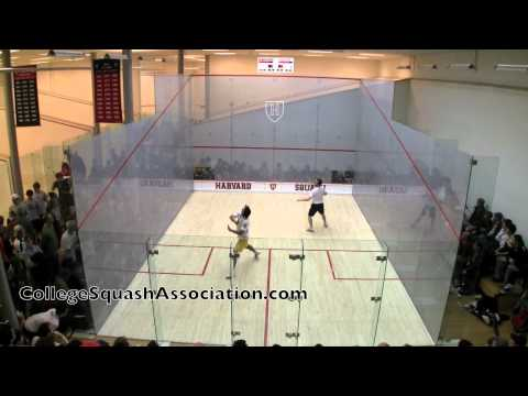 Men's College Squash: 2011 Potter Cup Finals (National Championship) – Yale and Trinity #1s – Game 2