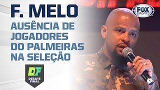 FELIPE MELO DETONA CONVOCAÇÃO DE TITE!