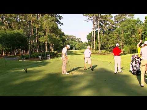 Michael Thompson gets an ace on the 8th hole at the 2013 Players Championship