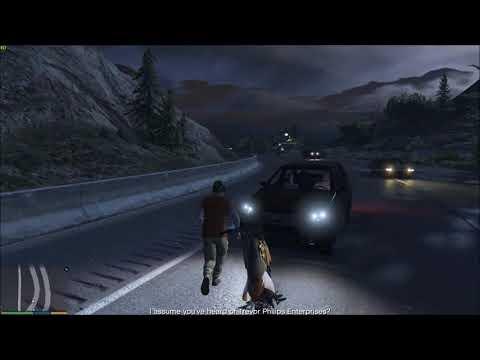 GTA 5 Gameplay: Bleeding Girl Rescue - Mik