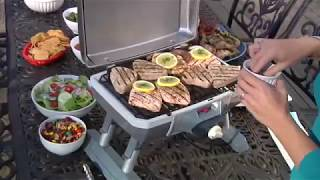 Outdoor Electric Tabletop Grill Commercial Video Icon