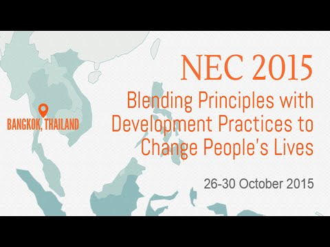 NEC 2015: Conference & Journey